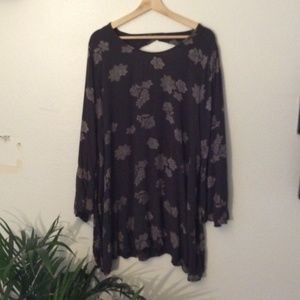 (3 For $20 SALE) Mossimo Paisley Floral Long Tunic
